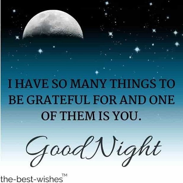 qoute for good night 8