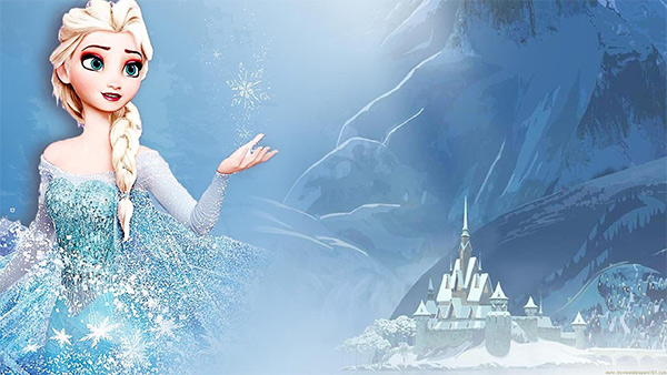 frozen background 22