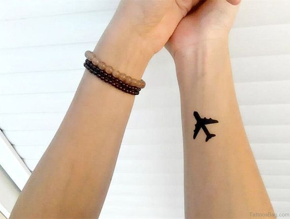 airplane tattoo picture 23