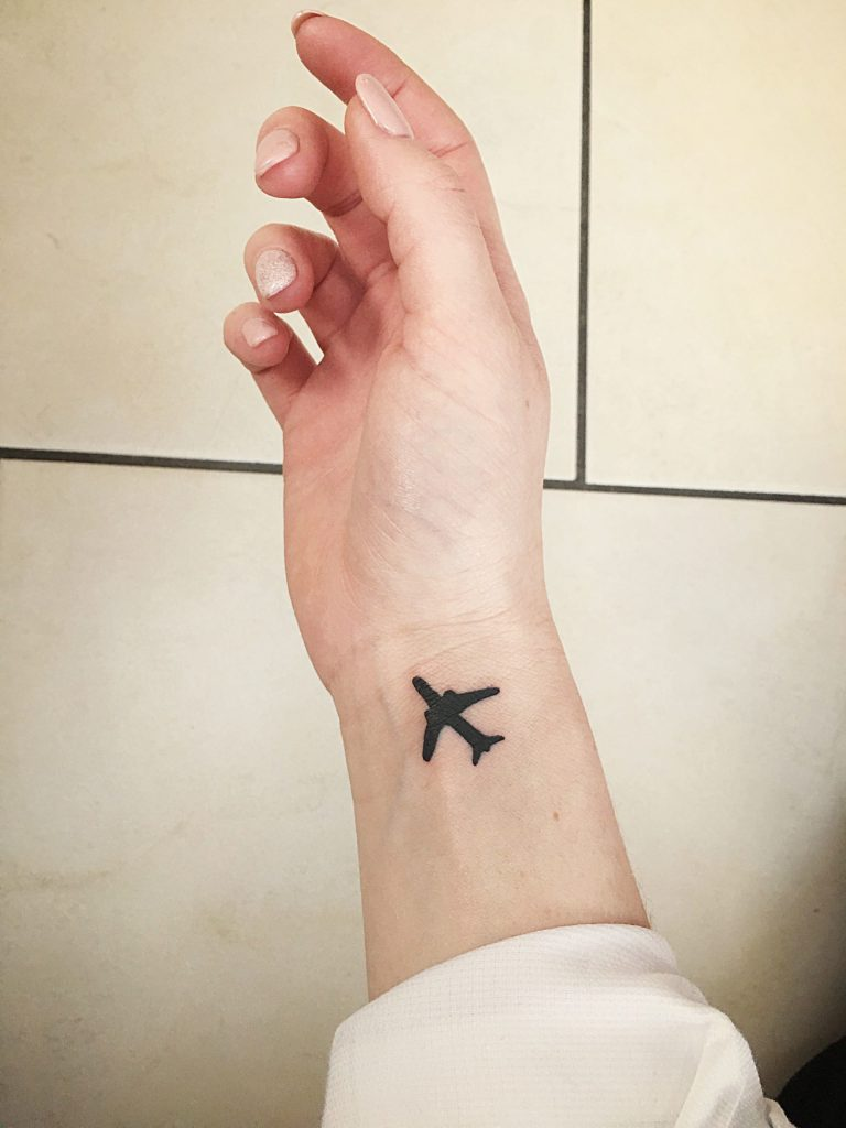 airplane tattoo picture 24
