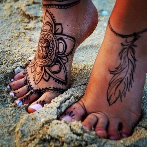 ankle bracelet tattoo picture 41
