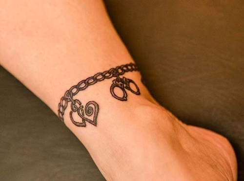 ankle bracelet tattoo picture 46