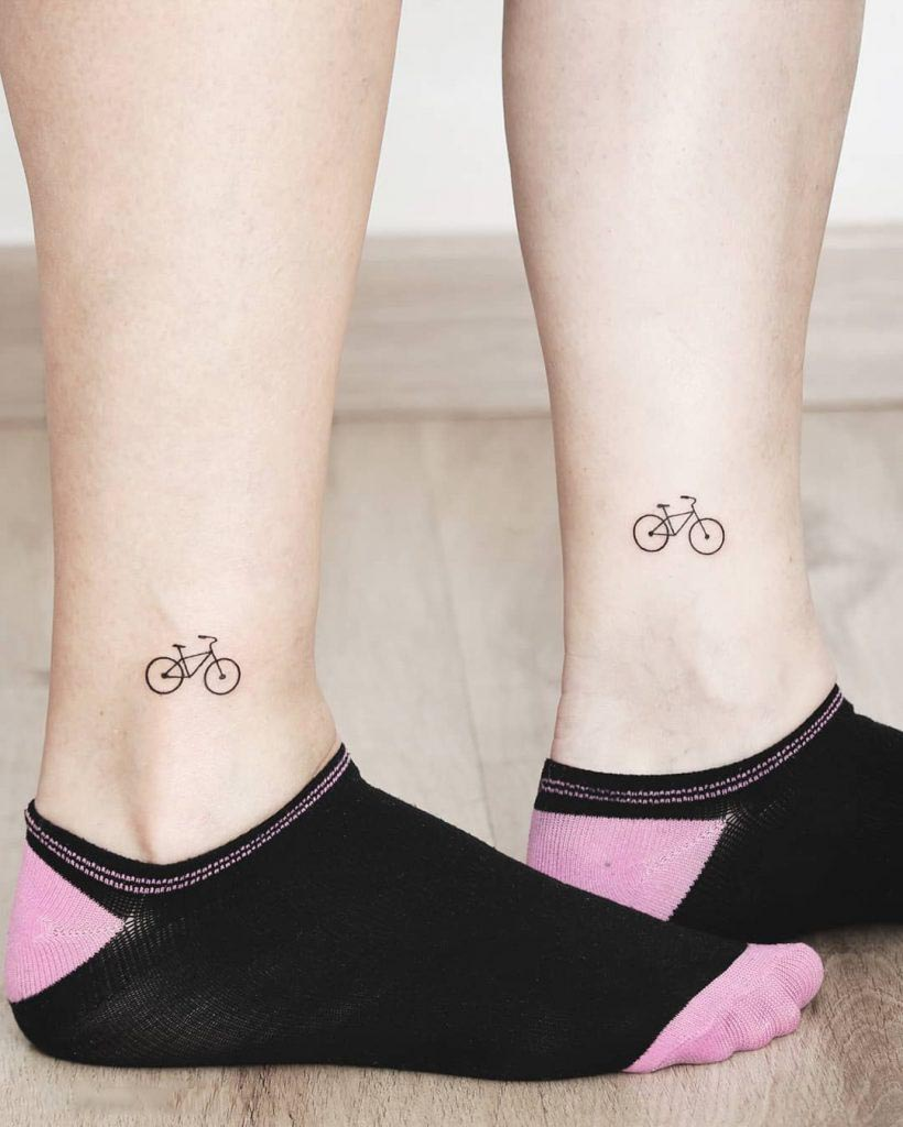 ankle tattoo image 24