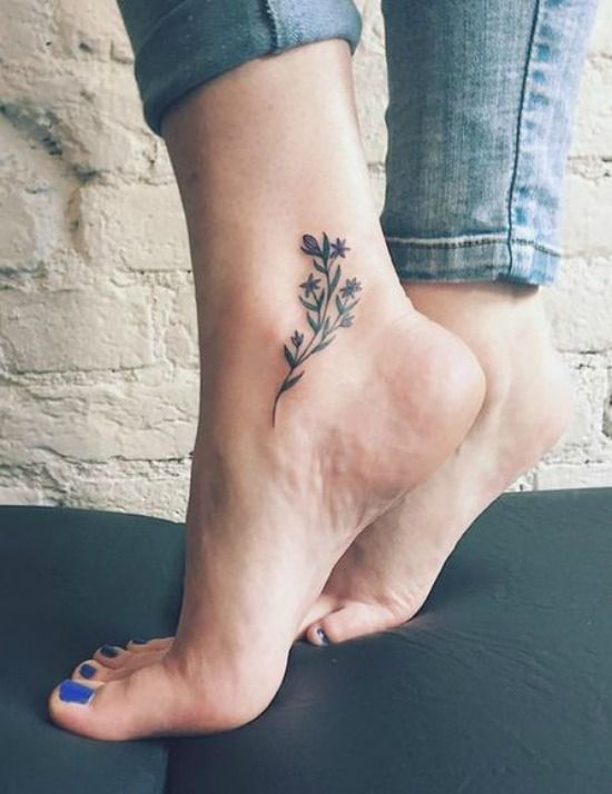 ankle tattoo picture 51