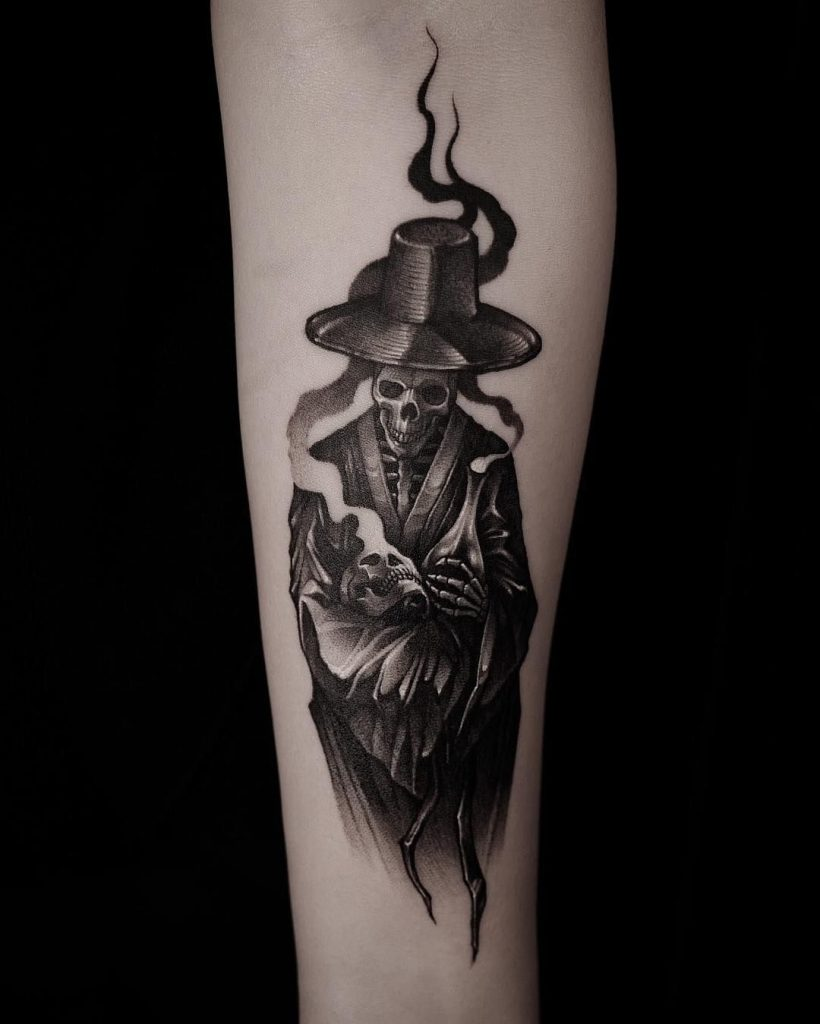 grim reaper tattoo 10
