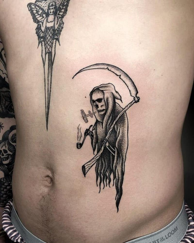 grim reaper tattoo 2
