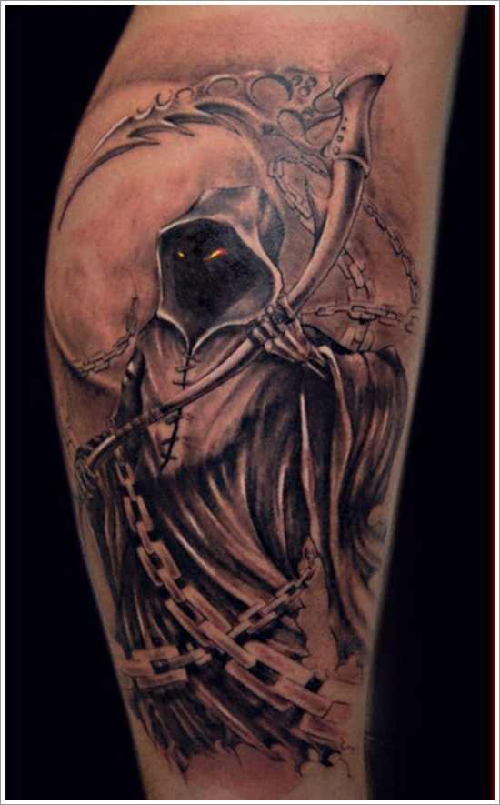 grim reaper tattoo 4