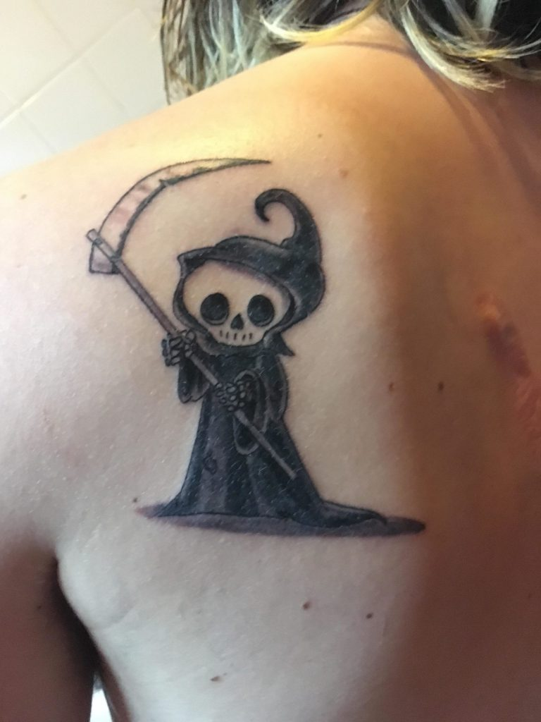 grim reaper tattoo 8