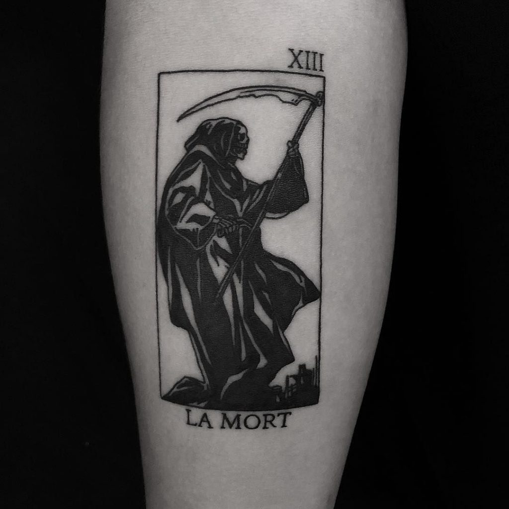 grim reaper tattoo design 12