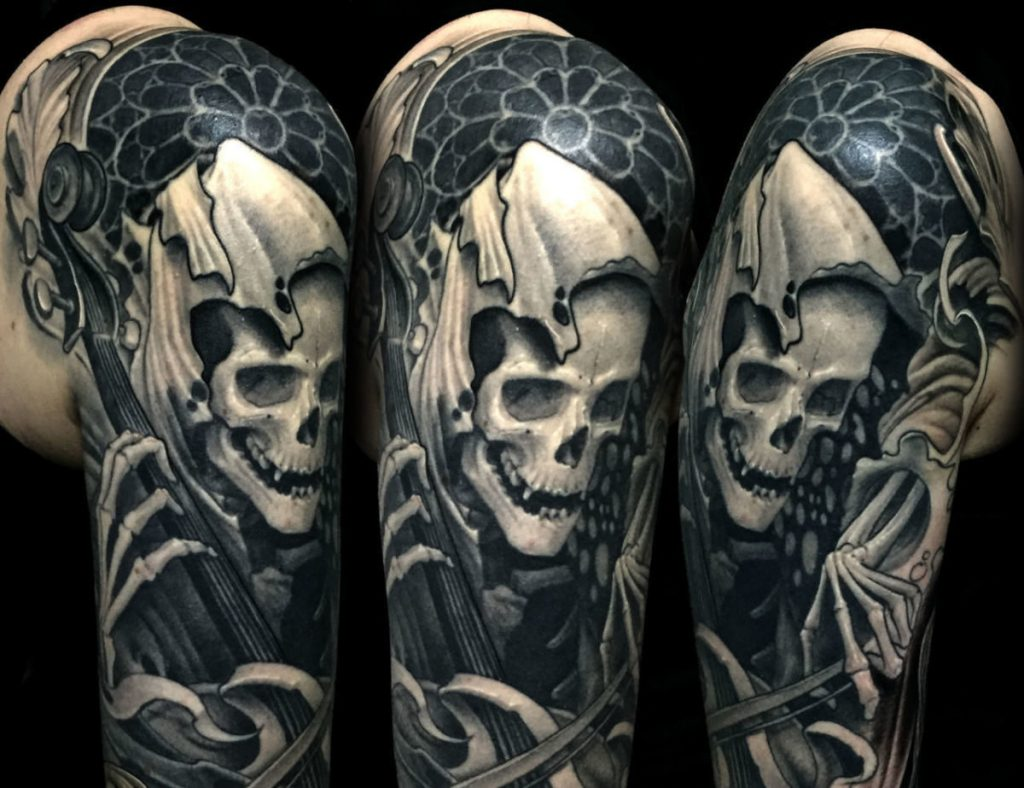 grim reaper tattoo design 16