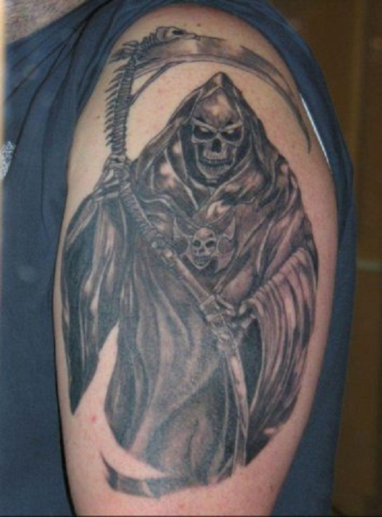 grim reaper tattoo photo 39 1