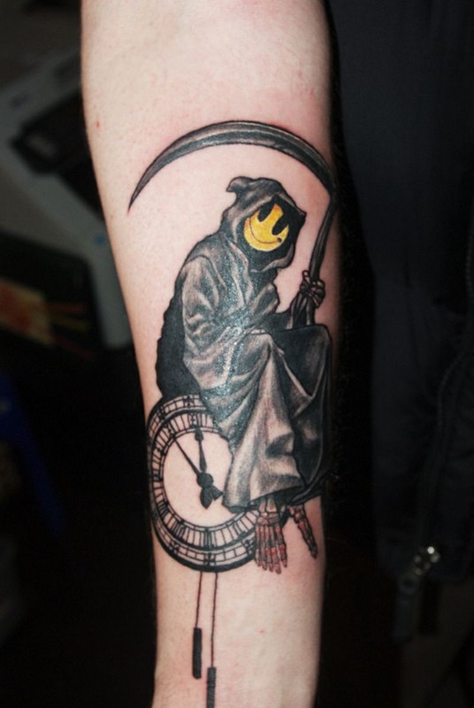 grim reaper tattoo picture 44 1