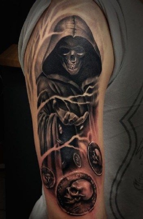 grim reaper tattoo picture 46 1