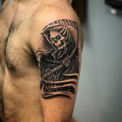 grim reaper tattoo picture 47 1