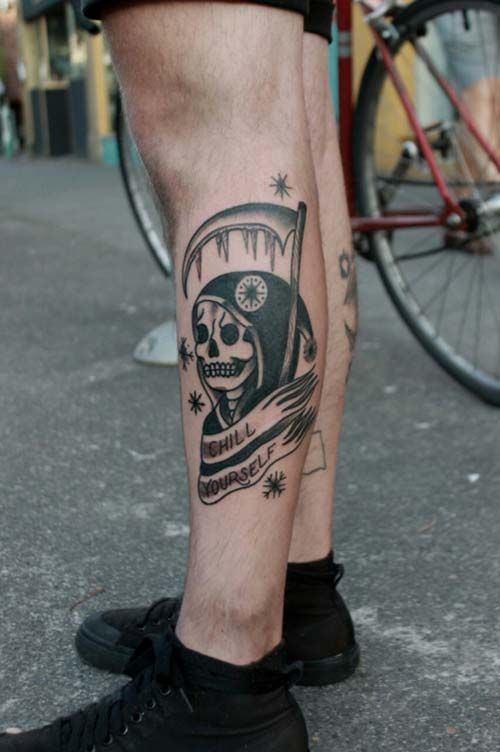 grim reaper tattoo picture 49 1