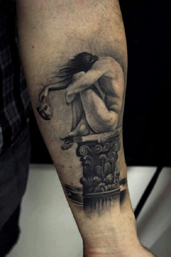loneliness tattoo images 16