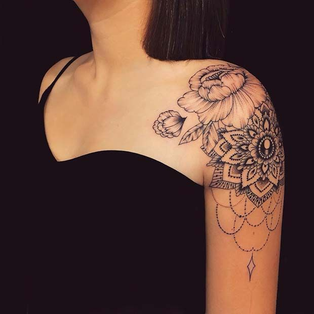 shoulder tattoo for girl picture 33