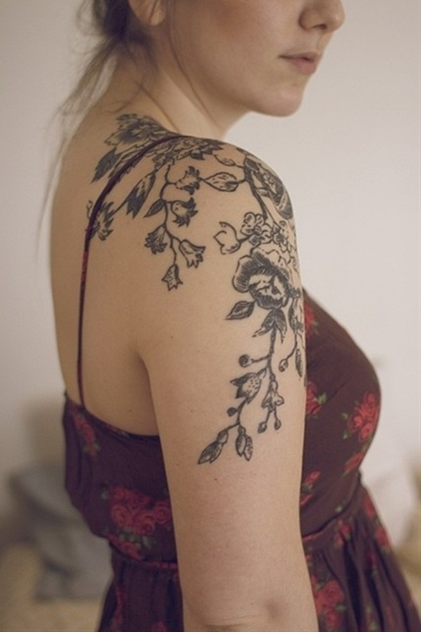 shoulder tattoo for girl picture 36
