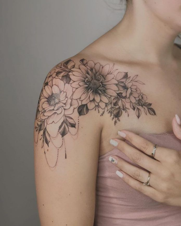 shoulder tattoo for girl picture 38