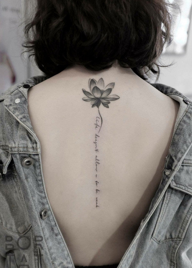 tattoo on the back of the neck 24