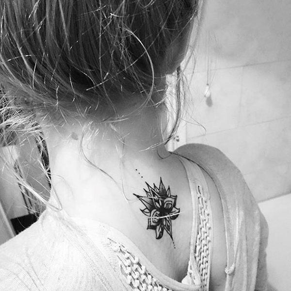 tattoo on the back of the neck 31