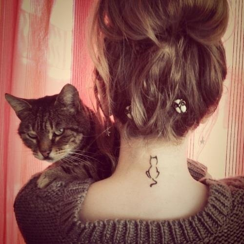 tattoo on the back of the neck 43