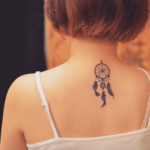 tattoo on the back of the neck 45