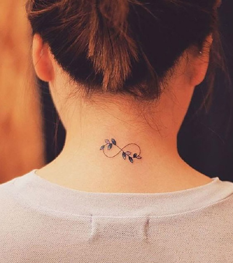 tattoo on the back of the neck 5