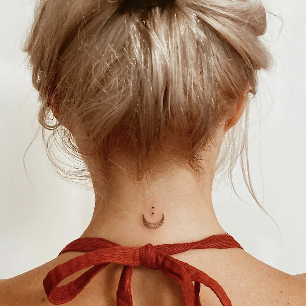 tattoo on the back of the neck 9
