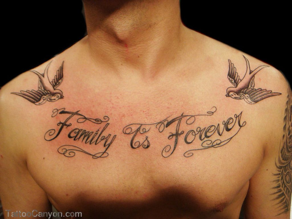 14 family is forever tattoo ideas