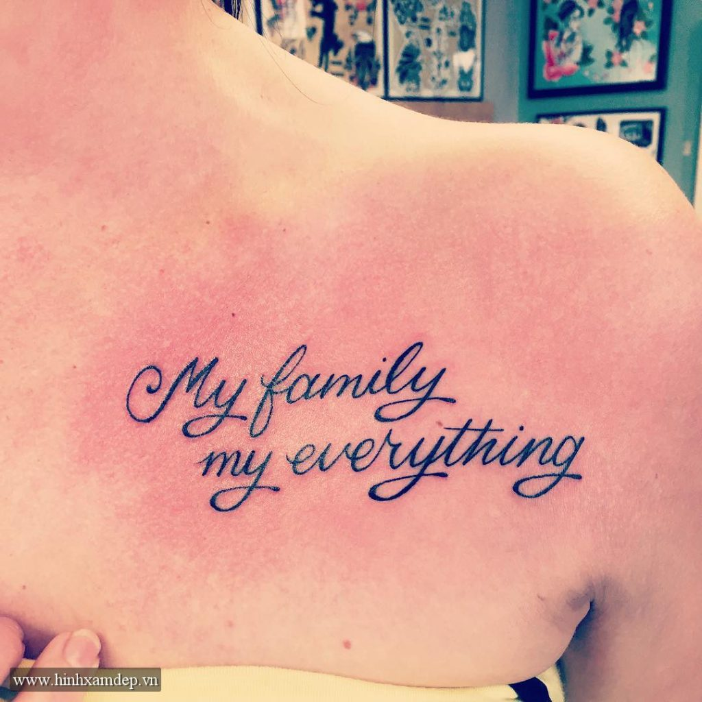 39 family is forever tattoo photo