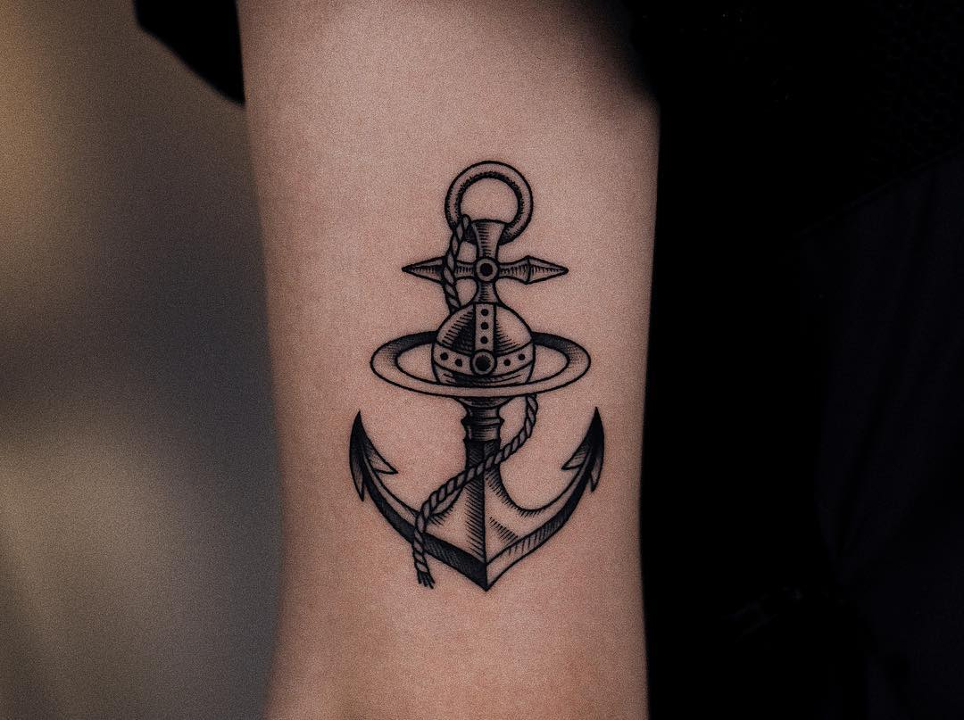 Anchor tattoo picture