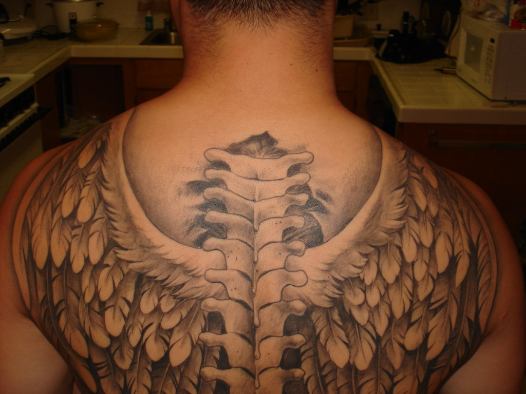 angel wings tattoo picture 43