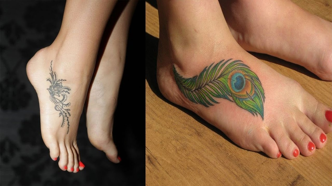 Ankle tattoo for girl design