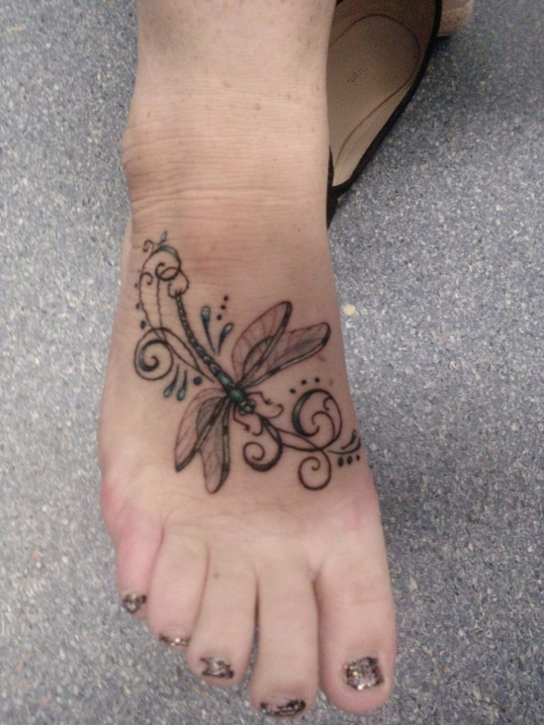 ankle tattoo for girl ideas 14