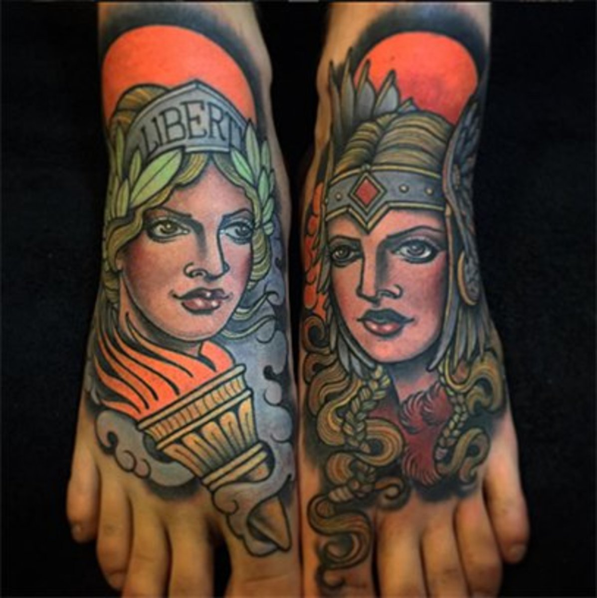 Ankle tattoo for girl ideas