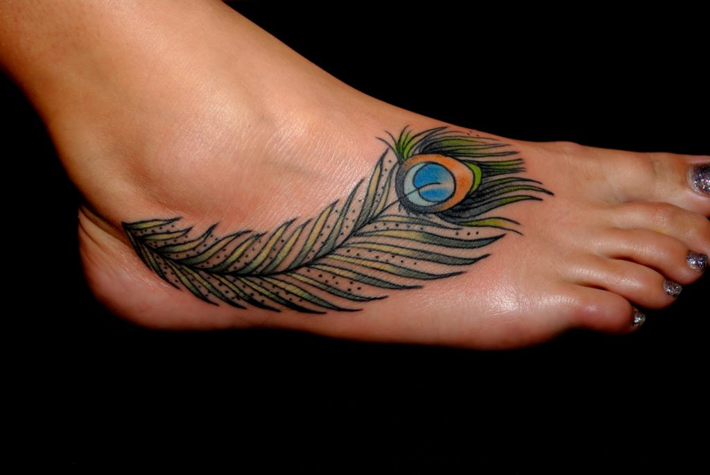 ankle tattoo for girl image 23