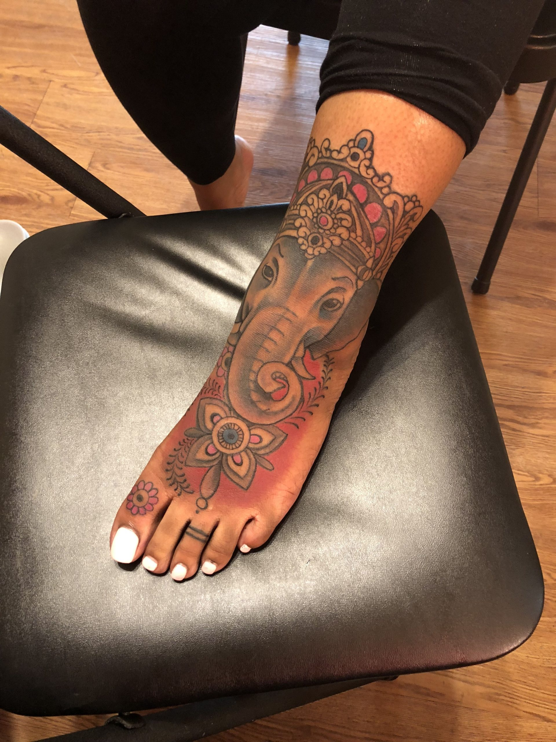 Ankle tattoo for girl image