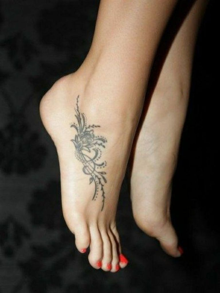 Ankle tattoo for girl picture