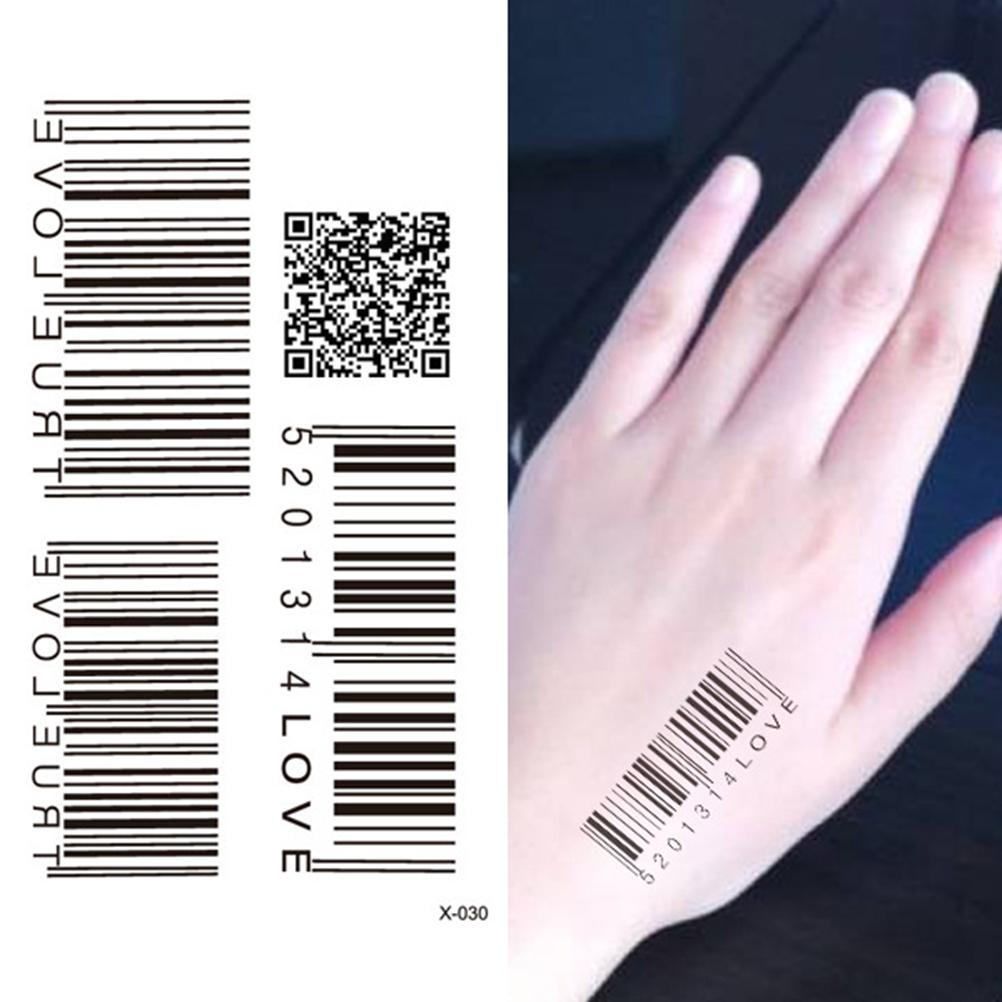 barcode tattoo picture 43
