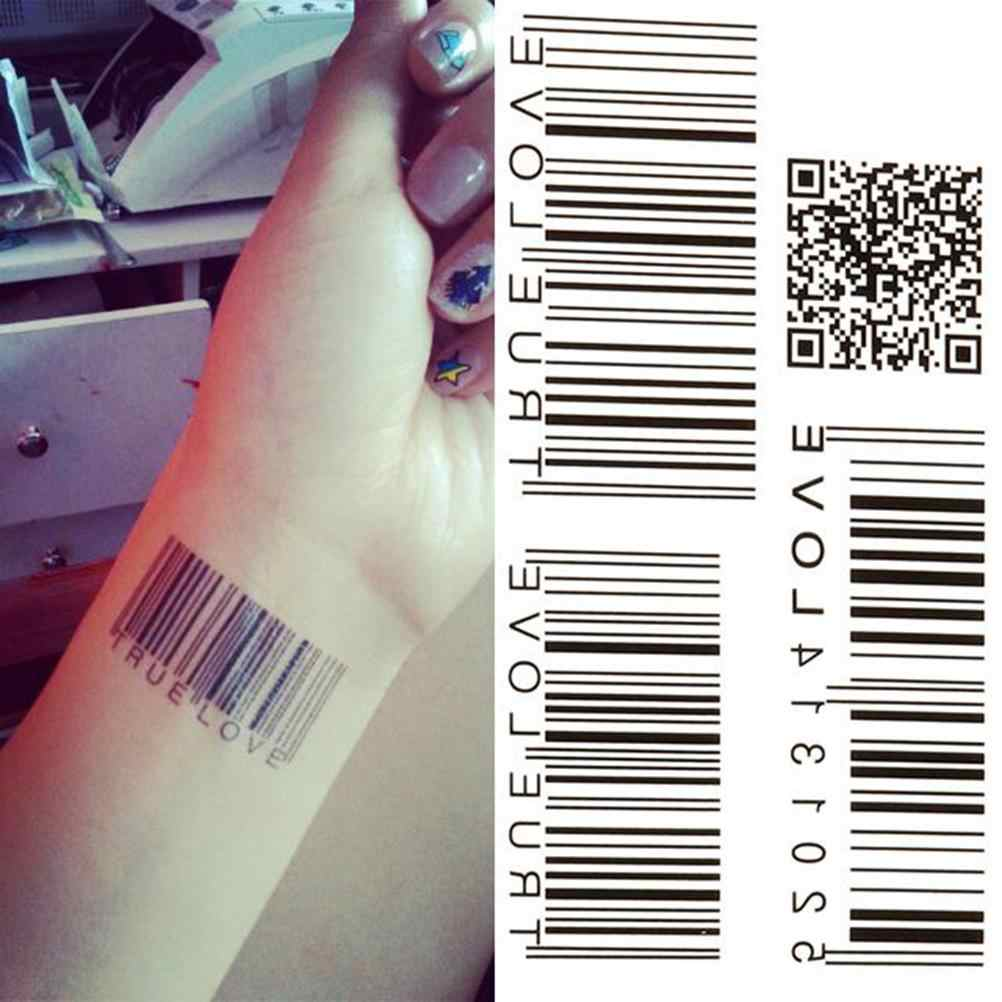 barcode tattoo picture 44