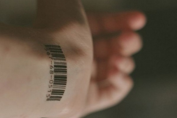barcode tattoo picture 47