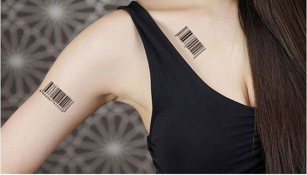 barcode tattoo picture 48