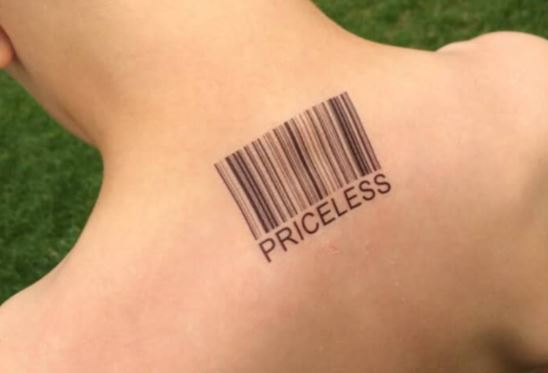 barcode tattoo picture 49 1