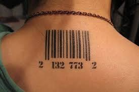 barcode tattoo picture 50 1