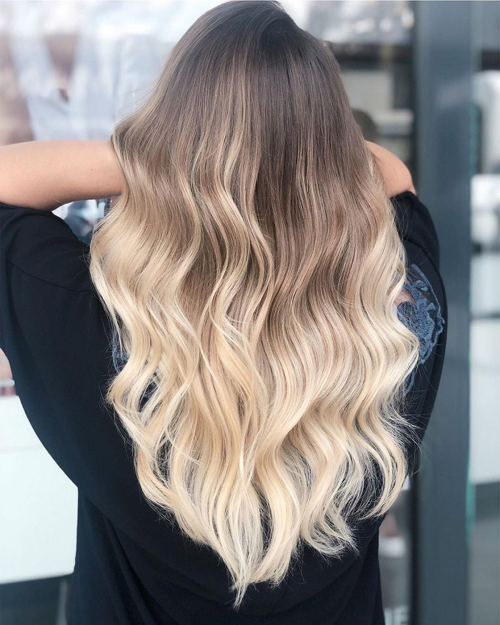 Best blonde ombre hair styles