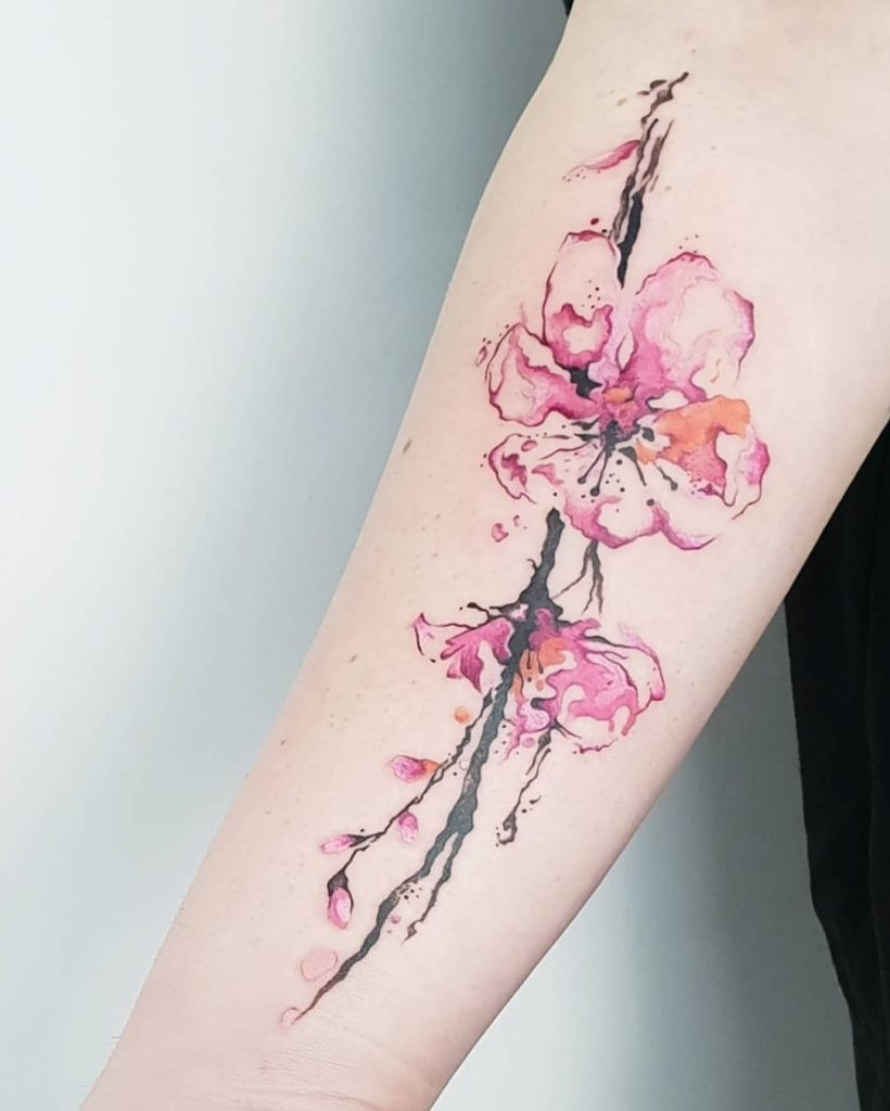 cherry blossom tattoo picture 44 1