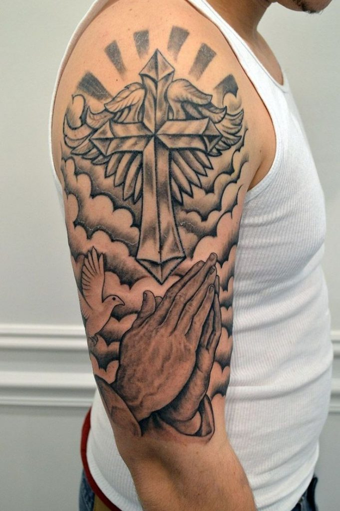 cross tattoo picture 48