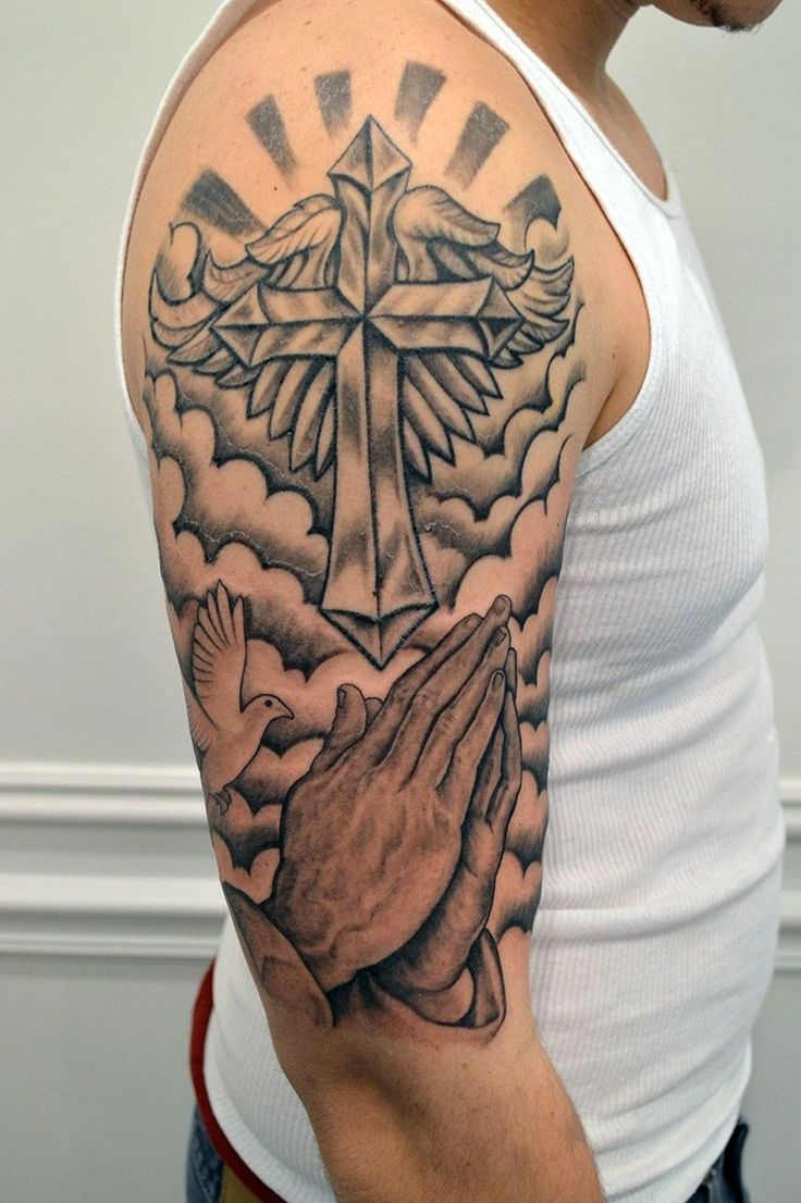 Cross tattoo picture