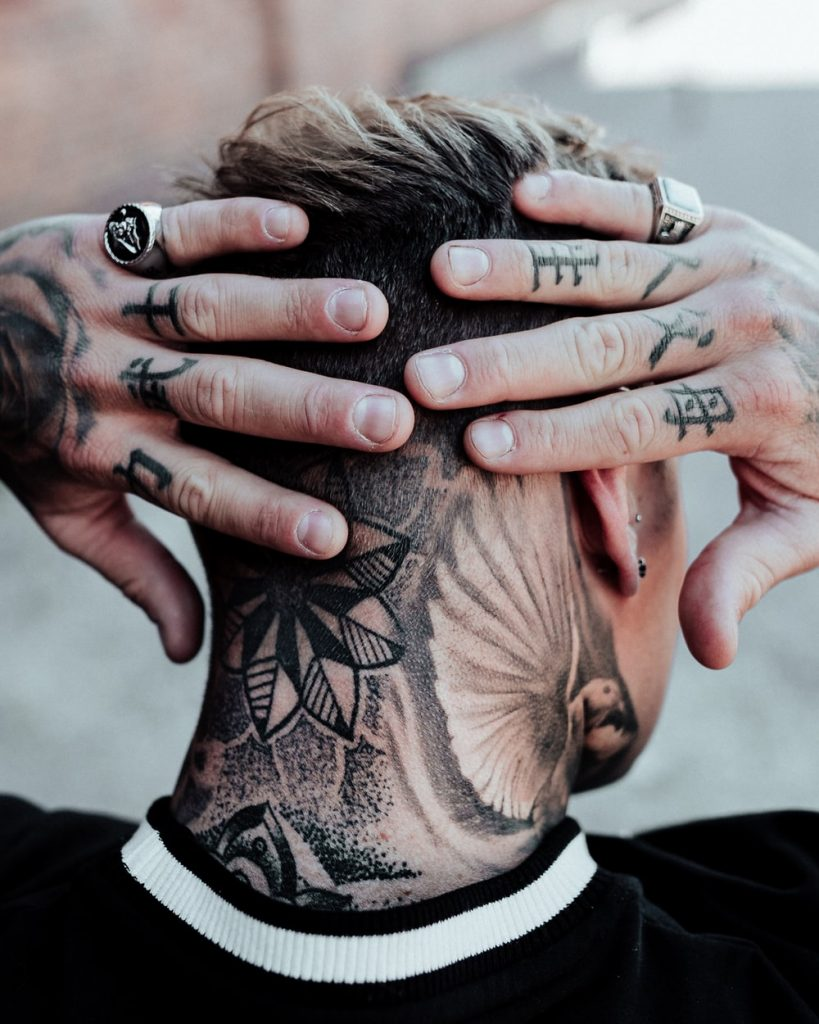 finger tattoo picture 41